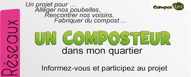 1ère ouverture du composteur et information mercredi 27 avril à 18h00