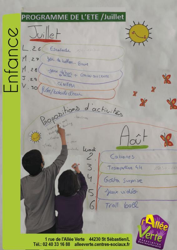 programme d'activités 6-10 ans